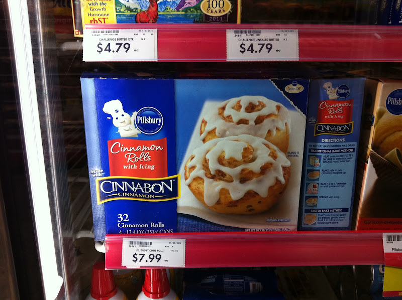 Photo: More inspiration...gooey cinnamon rolls. Really convenient!