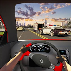 Racing In Car 3D