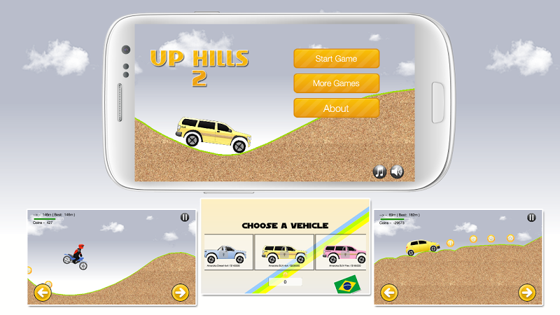 Скриншот UpHills 2 Climb Racing
