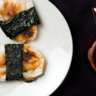 Toasted Mochi in Seaweed (Norimaki Mochi)