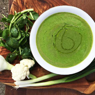 Watercress and Cauliflower Anti-Allergy Soup Recipe