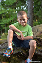 Photo: Boy posing for the camera at Woodford State Park by Bill Steele
