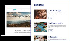 Blog Orson pour les conseils sur la création