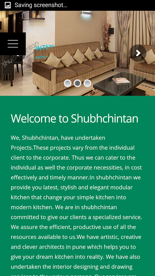 ShubhChintan- screenshot