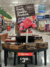 Photo: I LOVE the produce the department at Walmart. Fresh fruit was one of the ideas I had for our snack and my son agreed. He wanted fruit for his snack.