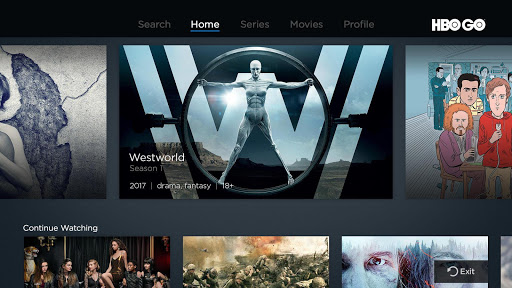 HBO GO - Android TV 5.11.4 screenshots 1