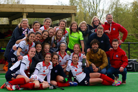 Hockey dames : les in doorzetting!