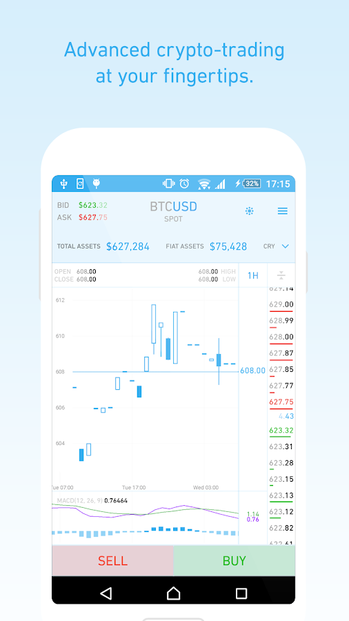QUOINEX- screenshot
