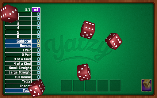 玩免費棋類遊戲APP|下載Yatzy Dice Game app不用錢|硬是要APP