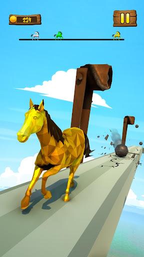 Horse Run Fun Race 3D Games apkpoly screenshots 6