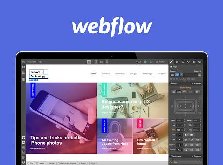 Webflow - Website Builder