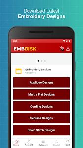 EmbDisk - Embroidery Design 1.5.0