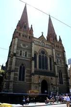 Photo: Year 2 Day 141 - St Pauls Cathedral in Melbourne