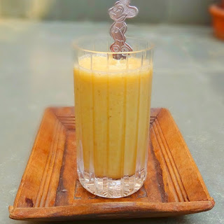 Luscious Orange Cardamom Smoothie