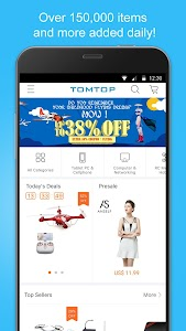 TOMTOP Shopping screenshot 0