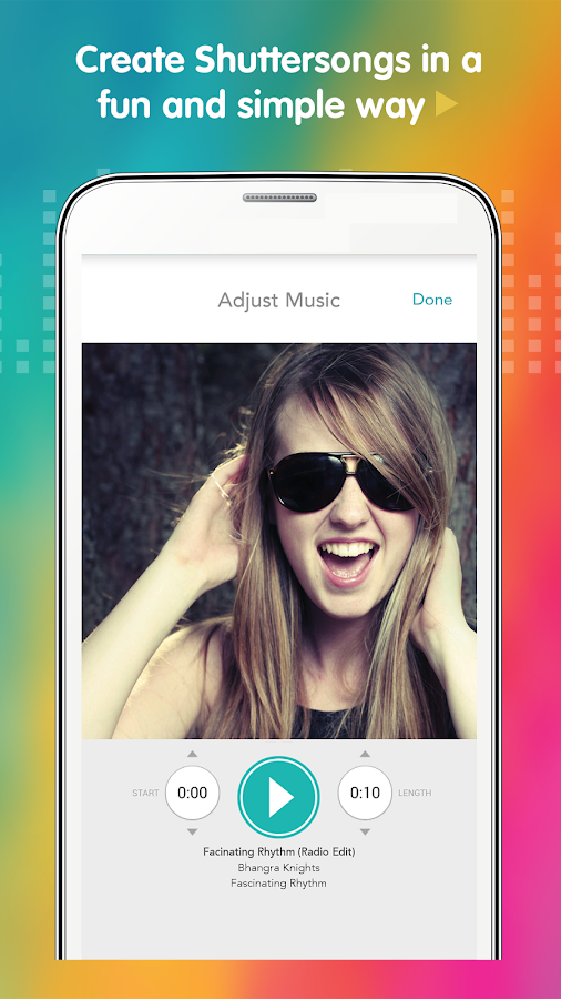 Shuttersong – Musical Photos- screenshot