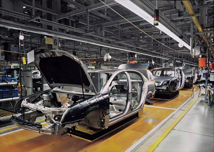 Workers face crunch as automotive industry robotises.