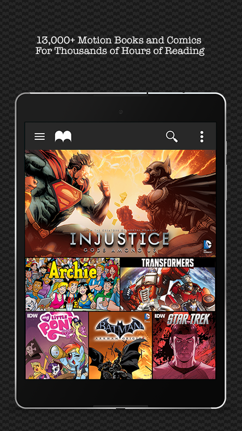 Madefire Comics & Motion Books screenshot #10