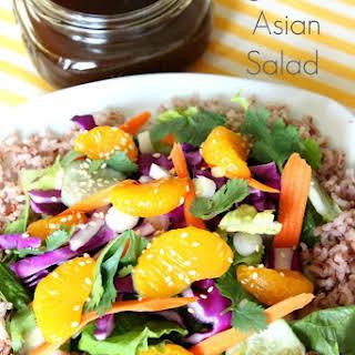 Vegetarian Asian Salad.