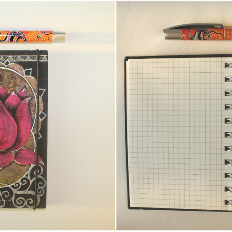 Pink Lotus - A5 Notebook