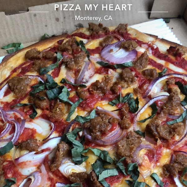 Gluten-Free Pizza at Pizza My Heart