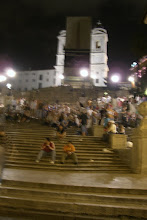 Photo: Drunk people on the Spanish Steps in Rome Italy - Blah...we weren't impressed