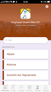 Download Ringkasan Materi SMA IPS For PC Windows and Mac apk screenshot 2