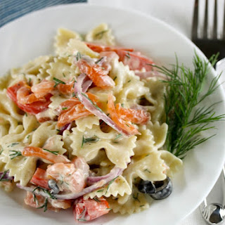 Bowtie Pasta Salad With Salmon Recipes