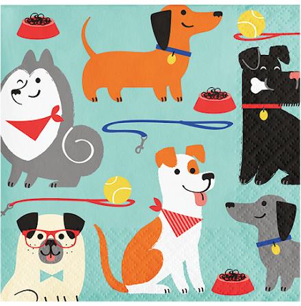 Servetter - Dog party