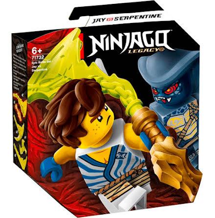 Lego Ninjago Episkt stridsset - Jay mot Serpentine