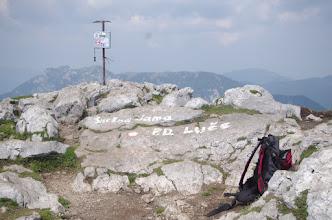 Photo: Vrh Velike Raduhe 2062m.