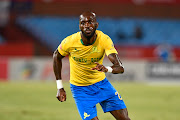 Anthony Laffor of Mamelodi Sundowns during the Absa Premiership match between Mamelodi Sundowns and Maritzburg United at Loftus Stadium on January 16, 2019 in Pretoria, South Africa.