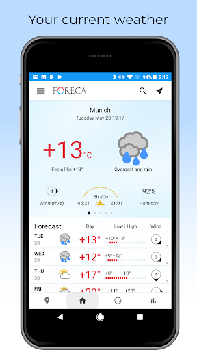 Foreca Weather screenshot 1