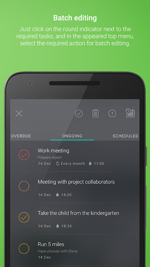 2BeDone: To-Do List | Tasks | Reminders- screenshot