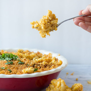 Baked Vegan Mac and Cheese - Gluten free, too!