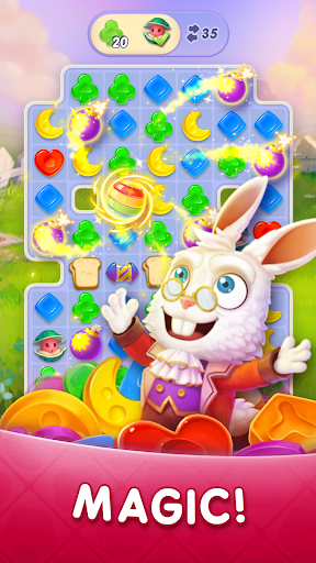WonderMatchu2122uff0dMatch-3 Puzzle Alice's Adventure 2020 2.2 screenshots 3