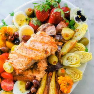 The Everything Salmon Salad Niçoise.
