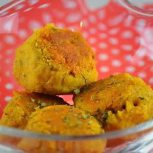Indian Lentil Meatballs (Vegan)