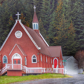St. Peter's Episcopal Church by Patricia Phillips - Buildings & Architecture Places of Worship ( alaska churches seward st peters )