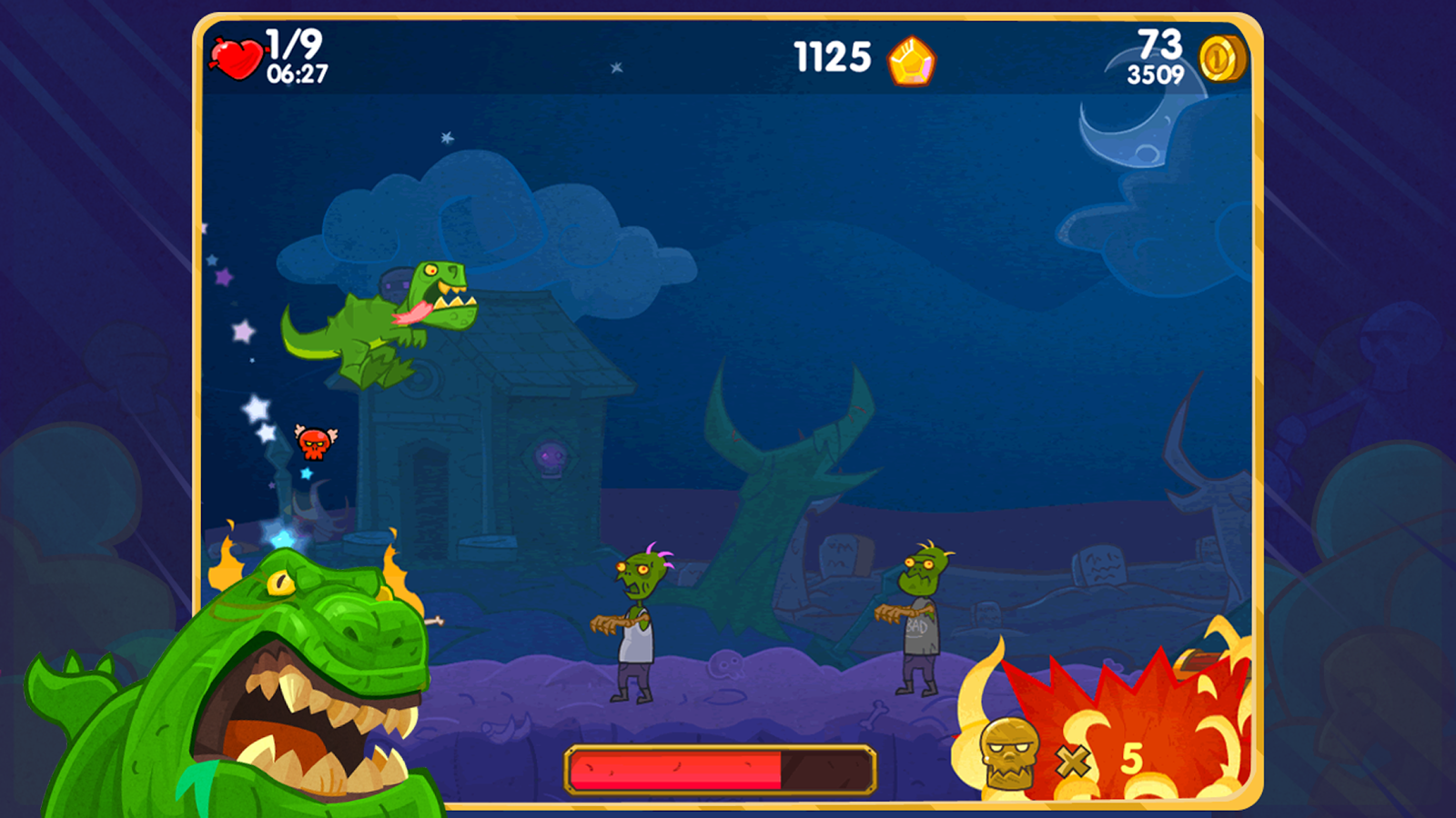 Zombilla Team- screenshot