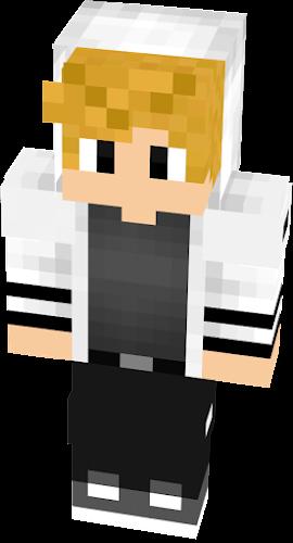 Blonde guy with hoodie | Nova Skin
