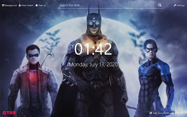 Batman Wallpapers Batman New Tab HD