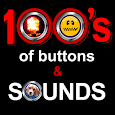 100's of Buttons & Prank Sound Effects icon
