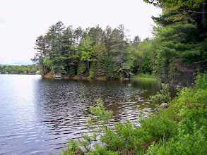 Photo: Lake on Route 16 in Maine, just outside Kingsbury