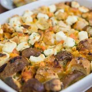 Bagel and Lox Breakfast Casserole Recipe