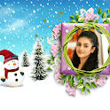 Christmas Photo Frame Cover Page Maker icon