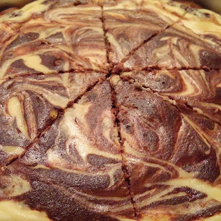 Low Carb Brownie Swirl Cheesecake