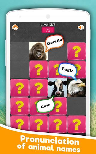 Memory Game: Animals 6.0 screenshots 3