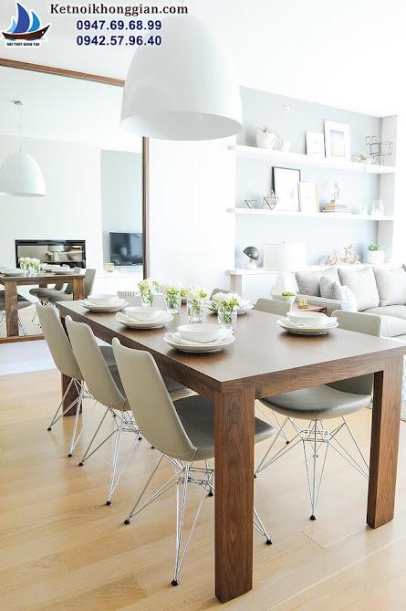 thiết kế nội thất phòng khách đẳng cấp