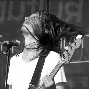 guitarist by Renato Dibelčar - People Musicians & Entertainers ( music, performance, guitarist, musician, boy, people, man )